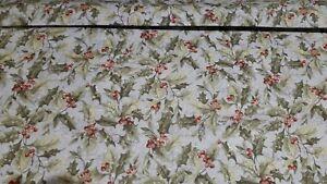 'Holly' ' Design CP72622 Susan Winget 100% Premium Cotton Fabric