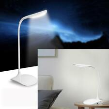 USB Akku Touch Sensor Kabellos LED Schreibtisch Tisch Lesen Arbeit Lampe Licht