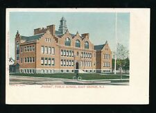 USA New Jersey NASSAU Public School East Orange c1902 u/b PPC