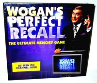 Wogan's Perfect Recall Board Game Terry Wogan Sealed NEW