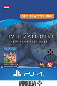 Playstation 4 Civilization VI - New Frontier-Pass Key - PS4 Download Code - DE