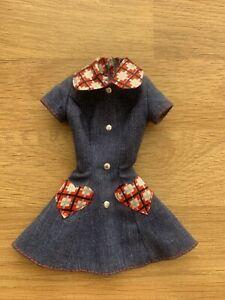 Vintage Barbie Denim Dress