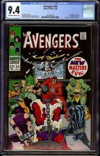 Avengers # 54 CGC 9.4 OW/W (Marvel, 1968) 1st new Masters of Evil