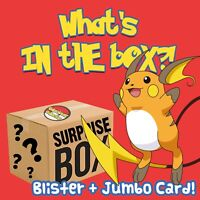 Blister Pokémon Surprise Box Mystery Card Lot Pokemon Gift Booster Pack