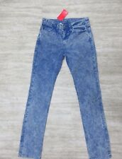 dc2642a1262 NWT American Apparel Slim Slack Straight Leg Jeans in Acid Blue Wash Size 26