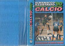 Libro=ALMANACCO ILLUSTRATO DEL CALCIO 1990=EDIZIONI PANINI=Anno 49°
