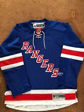 New York Rangers REEBOK Official Licensed NHL Jersey-L Taille.