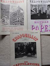 LOT 3 REVUES LE CRAPOUILLOT 1964