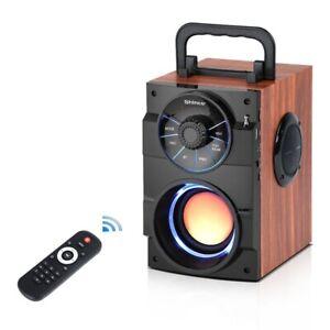 Portable Subwoofer Bluetooth Speaker Box Wireless Bass Music FM Radio AUX USB