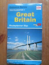 """Ordnance Survey  Travelmaster 1 Great Britain Routeplanner Map 1"""" to 10 miles"""