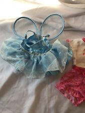 EUC! Build a Bear Outfit Clothes - Snowflake Fairy w/Wings and Princess Outfit