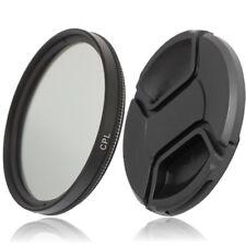 49mm CPL Filter Polfilter Zirkular Polarisationsfilter & Objektivdeckel lens cap