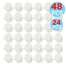 Outlet Plug Covers 12-48Pcs Clear Child Proof Electrical Protector Safety Caps
