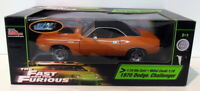 Ertl 1/18 Scale Diecast - 36973 Fast & Furious 1970 Dodge Challenger Orange
