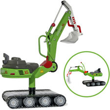 Rolly Toys RollyDigger XL Schaufelbagger aus Metall (Grün)
