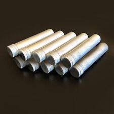 10pcs Aluminum Test Tube With Screw Cap Bottle Preroll Packaging Tube