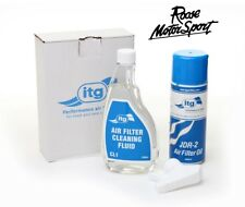 ITG Air Filter Cleaning Kit. Cleaner & Dirt Retention Oil JDR-2 CLK-2