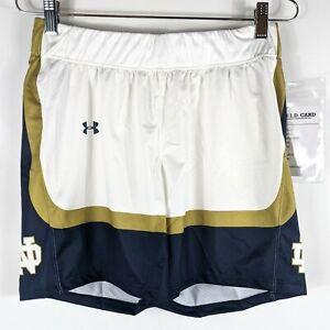 Notre Dame Workout Shorts Womens Size Small No Pockets Fighting Irish Gym Pants