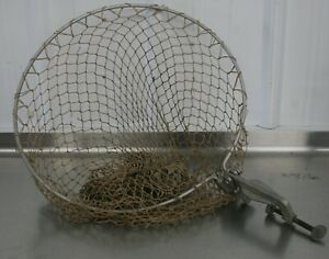 Rare Vintage Net Machine Mountable Antique Fishing Net