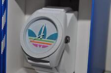 Adidas Santiago ADH2916 Unisex Watch Quartz Analog White Silicone NIB
