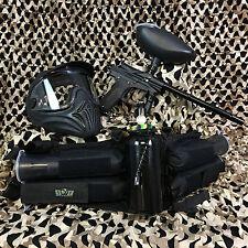 NEW Azodin Blitz 3 LEGENDARY Paintball Marker Gun Package Kit - Black/Black