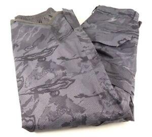 Under Armour ColdGear Infrared Snocone Snowboard Snow Pants Medium Gray Camo