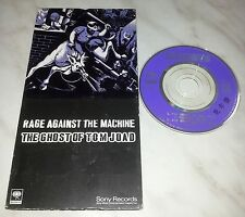 """CD RAGE AGAINST THE MACHINE - THE GHOST OF TOM JOAD - SRVM 1531 - JAPAN 3"""" INCH"""