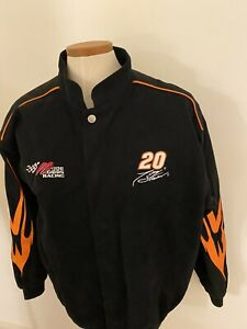 New Chase Nascaar Jacket Mens XL Home Depot Tony Stewart 20 100% Cotton Emb