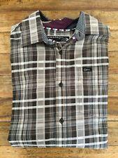 Camisa cuadros ENYCE by Sean John button down plaid shirt talla M nueva