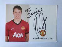 Autogramm NICK POWELL-Manchester United-U21 NS England-Ex-Hull/Wigan/Crewe-AK