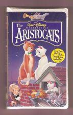 THE ARISTOCATS 1970 (Walt Disney Home Video) Eva Gabor BIG Box clam OOP vhs NEW!