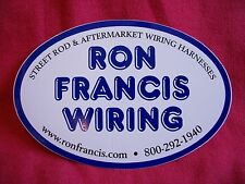 Ron Francis Wiring Street Rod & Aftermarket Wiring Harnesses  Sticker Decal