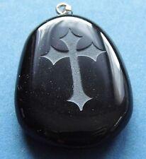 noir croix LE CHEVALIER DU TEMPLE SUR ONYX