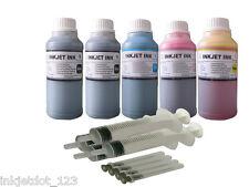 Refill ink for Epson T273 T273XL XP-600 XP-800 Printer 5x250ml 1p