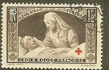 """FRANCE TIMBRE STAMP N°460 """"AU PROFIT DES BLESSES CROIX ROUGE"""" OBLITERE TB"""