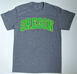University of Oregon Ducks T-Shirt Dark Grey Green Men's Size Small No Brand