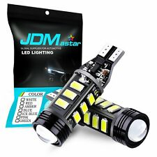 JDM ASTAR 2x 12-SMD 921 912 T10 T15 LED 6000K White Backup Reverse Lights Bulbs