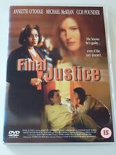 "DVD UK ""FINAL JUSTICE"" ANNETTE O'TOOLE MURDER"