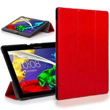 Custodie e copritastiera rosso pieghevole per tablet ed eBook Lenovo