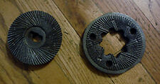 Two Corona Victoria Mill Feed Flour Grinding Plates