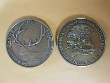 North American Hunting Club NAHC Big Game Series ELK Coin Medal Bronze