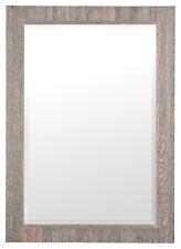 Large Driftwood Mirror Natural Rustic Wood Frame Living Room Bedroom 75x105cm