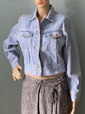 Vintage Jordache Womens Denim Jacket size Medium light denim blue exc Cond