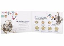 2017 Australia Possum Magic 8 Coin Set - Limited Edition including 1c coin