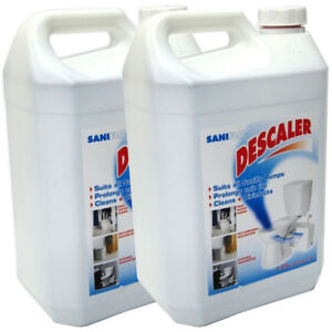 Saniflo 1085  Descaler Cleaner for Macerator 5 litre - Pack Of Two