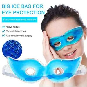 Gel Eye Mask Cold Pack Warm Hot Heat Ice Cool Soothing Tired Eyes Headache