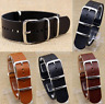 Casual Multi-sizes Leather Wrist Watch Band Strap Stainless Steel Pin Buckle