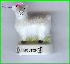 """Feve Animaux de la Ferme Edition Atlas """" Le Mouton """"sheep Schaf  #B15"""