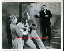 "Batman and Robin 1940's Serial 8x10"" Photo From Original Negative #L7505"