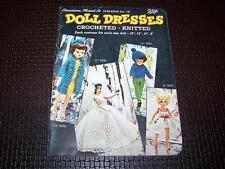 Vintage American Thread Co. DOLL CLOTHES Knitting Crochet PATTERN Star Book #161